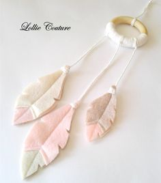 Items similar to Baby Pink Dream Catcher Wall Hanging, felt Feather Dream Catcher, Nursery Decoration, Felt Feathers, wall hanging on Etsy Baby Pink Dream Catcher Wall Hanging felt by ModernStyleHoliday Baby Crafts, Felt Crafts, Diy And Crafts, Crafts For Kids, Arts And Crafts, Dream Catcher Craft, Feather Dream Catcher, Felt Wall Hanging, Baby Mobile