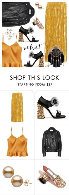"""""""It's the little things"""" by jan31 ❤ liked on Polyvore featuring Miu Miu, MANGO and Acne Studios"""