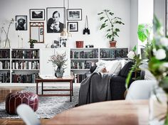 The next home decor ideas will be going to be the ones you'll be wanting and needing this Summer home decor trends! Scandinavian Bookcases, Scandinavian Design, Interior Design Inspiration, Home Interior Design, Interior Decorating, Decoration Bedroom, Decoration Design, Billy Ikea, Pastel Decor