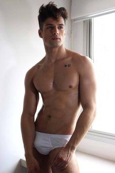 """ Jonathan Rosa by Anderson Junior for Brazilian Male Model Magazine "" Brazilian Male Model, Men's Undies, Underwear, Model Magazine, Hommes Sexy, Couple, Male Form, Man Photo, Hot Boys"