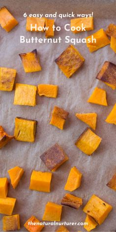 Not sure how to cook butternut squash? It is easy and there are lots of different ways to prepare one! A wonderful thing to add to any fall meal, butternut squash is autumn must-make and can add a healthy dose of vitamins to any dish! #squash #butternutsquash #veggieloaded #healthy @naturalnurturer | thenaturalnurturer.com Pumpkin Dishes, Pumpkin Recipes, Fall Recipes, Dinner Recipes, Roast Whole Butternut Squash, Butternut Squash Benefits, Herb Recipes, Side Recipes, Real Food Recipes