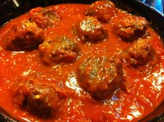 Derek on Cast Iron - Cast Iron Recipes: Recipe: Meatballs for your Spaghetti (gluten free)