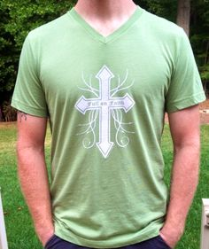 Full on Faith men's Tshirt from fillyourlifeup.com