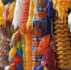#India (Janpath Market in Delhi)
