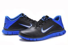 best service 56738 5a5e3 Nike Free Mens Nike Free Run 4.0 V3 Mens Skor In Leather Svart Bla Vit Ny 02