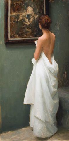"""Admiration"", oil Drawings « Westerberg Fine Art"