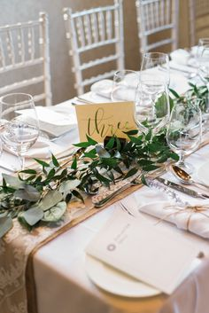 Foliage Table Centers by Something Blue Floral Design, October 2016, Photography by Live to Love Studio