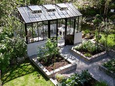 Växthus och odlingar