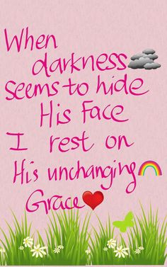 Weathering the storm by resting in Him and His promises.