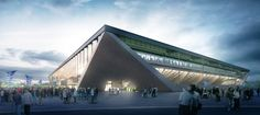 MLZD and Sollberger Bögli Win Competition to Design Lausanne Football Stadium