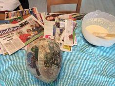 DIY Papier mache; zelf lijm maken