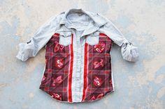 Jessamity: Proyecto de DIY: Blusa vaquera y pañuelo - Tutorial