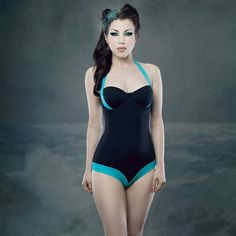 Deluxe Swimsuit Turquoise
