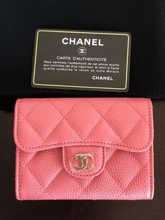 b98df6782f52 Chanel XL Card Holder With Mona Lisa Back Slot #CHANEL Purple Handbags,  Calf Leather