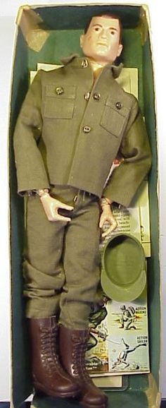 G.I. Joe action figure - my brother's favorite toy and some times Barbie's date when Ken was lost or busy.