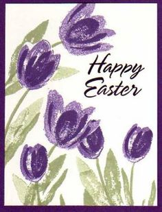 Happy Easter by colie32 - Cards and Paper Crafts at Splitcoaststampers