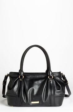 Burberry Leather Satchel available at #Nordstrom
