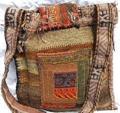 .frida style mexican gypsy boho shoulder bag design get crafty and make your own by upcycling old bags, blankets and jackets and patchwork your own design