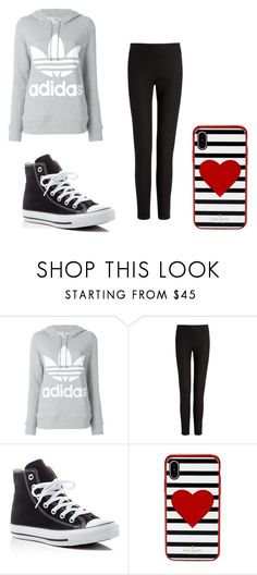 """Awesome Athletic"" by awesome-banana-17 ❤ liked on Polyvore featuring adidas, Joseph, Converse and Kate Spade"