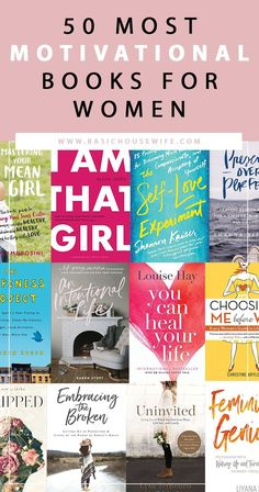 Motivational books, Inspirational books, Books, Books to read Great books to read, Entrepreneur books - 50 Motivational Books for Women Best Books 2018 MustRead Books in Your Twenties Must - Best Self Help Books, Best Books To Read, Great Books, Best Love Books, Best Book Club Books, Feel Good Books, Book Suggestions, Book Recommendations, Best Motivational Books