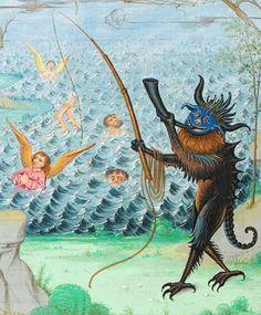 Pèlerinage de vie humaine of Guillaume de Deguileville, Hainaut ca. 1490 Genève, Bibliothèque de Genève Ms. fr. 182, fol. 162v