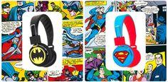 ¿Eres de Batman o de Superman?Participa en el sorteo y gana unos auriculares