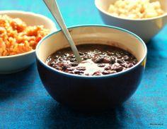 black bean soup   zupa z czarnej fasoli