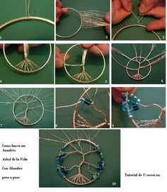 pagan crafts | DIY Tree of Life Amulet | DIY Accessories & Apparel