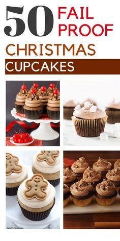 Santa Cupcakes, Cookie Dough Cupcakes, Red Cupcakes, How To Make Cupcakes, Christmas Cupcakes, Christmas Appetizers, Christmas Desserts, Christmas Baking, Christmas Recipes