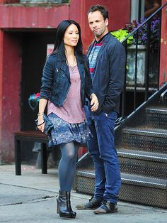 I'm excited to see the new fall show Elementary with Johnny Lee Miller and Lucy Liu. Really cool concept turning Dr. Watson into a chick!