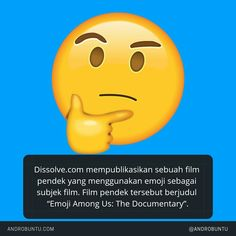 Dissolve.com mempublikasikan sebuah film pendek yang menggunakan emoji sebagai subjek film. Baca selengkapnya di androbuntu.com.