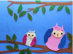 free owl craft  |   Crafts and Worksheets for Preschool,Toddler and Kindergarten