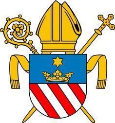 Herb diecezji płockiej - Diecezja płocka – Wikipedia, wolna encyklopedia
