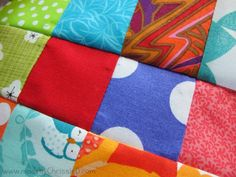 The Scrappy Nine Patch Quilt Block is the frugal quilter's dream come true. This awesome, scrappy quilt project creates a colorful quilt block that you can sew together in no time. Nine patch quilt variations always provide a fun place to play and ex Nine Patch Quilt, Crazy Quilt Blocks, Rag Quilt Patterns, Pattern Blocks, Sewing Patterns, Scrappy Quilts, Easy Quilts, Log Cabin Quilt Pattern, Quilting Projects