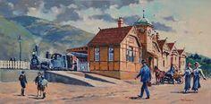 Phil Dickson - artist based in Lower Hutt Valley, Wellington, New Zealand New Zealand Art, Art Academy, Art Club, Community Art, Past, Gallery, Artist, Painting, Vintage