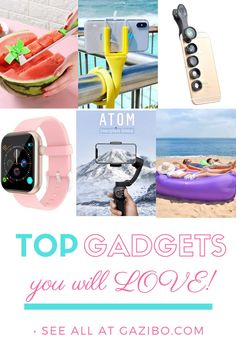 Top Gadgets you and your friends will love! From kitchen gadgets, to outdoor gadgets to cellphone accessories for everyday needs! Top Gadgets, Phone Gadgets, Cool Kitchen Gadgets, Travel Gadgets, Camera Accessories, Cell Phone Accessories, Sweet Home, Outdoor Supplies, Outdoor Gadgets