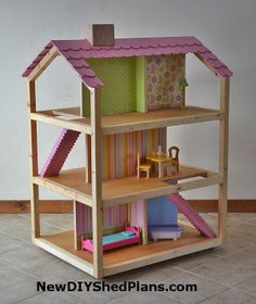 doll house plan & design