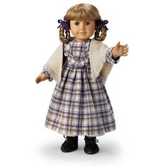 American Girl - Kirsten Plaid Dress and Shawl