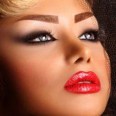 persian bride makeup