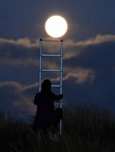I would follow you to the moon and back...