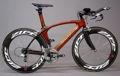 Hoodoo Time Trial / Triathlon bike raced at Ironman World Championships, 2010 #damn #sexy