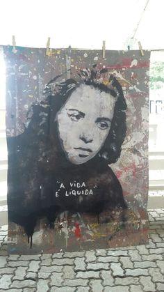 Hilda Hilst Stencil