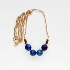 The Vamoose- Lapis Lazuli Necklace