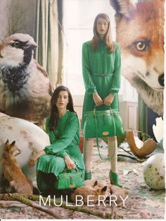 mulberry in green