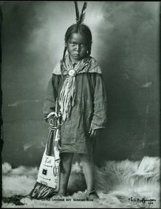 Cheyenne boy 1878. You feel the emotion.
