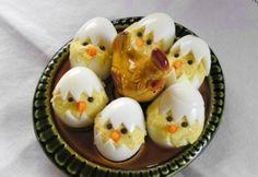 Húsvéti csibék tojásban recept képpel. Hozzávalók és az elkészítés részletes leírása. A húsvéti csibék tojásban elkészítési ideje: 30 perc