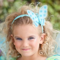 ProductDetail: Accessories Makeup: Hair Headpieces Name: Butterfly Fairy Child Headpiece ID: 62168