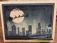 #brayerclass, #deerlandstamping, #christmascards, #diycsrdmaking, #santa