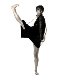 Twyla Tharp now(ish). This woman revolutionized the world of dance!  She IS Modern Dance.  A legend.