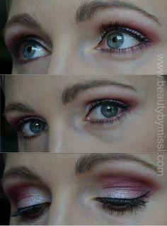 Pink eye makeup :)